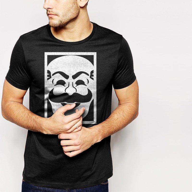 New Hot MR Robot F Society Black T-Shirt for Men