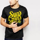 New Hot Suns out Guns out summer vacation Black T-Shirt for Men