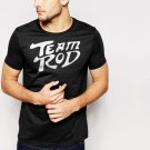 New Hot Team Rod Stunt Man Black T-Shirt for Men