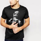 New Hot Voodoo Doll Goth Rock Black T-Shirt for Men