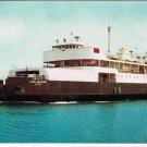Prince Edward Island PEI Postcard MV Lord Selkirk Wood Island to Caribou Ferry