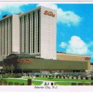 Atlantic City New Jersey Postcard Sands Hotel Casino Park Place Boardwalk