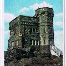 Newfoundland Postcard St John's Cabot Tower Signal Hill Marconi