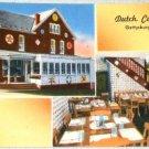 VINTAGE Dutch Cupboard Gettysburg Pennsylvania Postcard