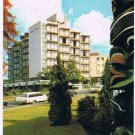 Victoria British Columbia Postcard Queen Victoria Inn Thunderbird Park Douglas