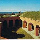Mississippi Postcard Fort Massachusetts Ship Island Gulfport Biloxi