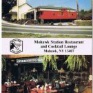 Mohawk New York Postcard Mohawk Station Restaurant Cocktail Lounge