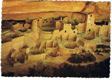 Colorado Postcard Cortez Cliff Palace Mesa Verde National Park