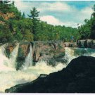 Fraser Lake Camp Ontario Postcard Picturesque Waterfall
