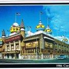 Mitchell South Dakota Postcard Corn Palace 1986