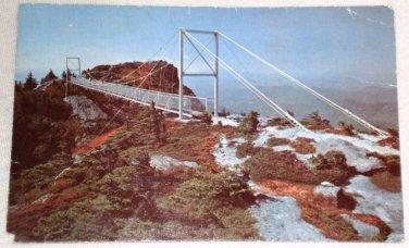Mile High Swinging Bridge Grandfather Mountain NC