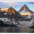 Alberta Laminated Postcard RPPC Sunrise On Mount Assiniboine