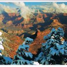 Arizona Postcard Grand Canyon First Winter Snowfall
