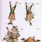 Comic Scotland Postcard How To Do The Highland Fling