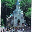 Quebec Laminated Postcard RPPC St Joseph's Oratory First Chapel