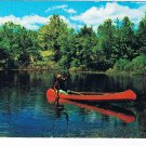 Sports Postcard Canoeing Fishermans Dream Come True