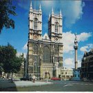 VINTAGE Westminister Abbey London England Postcard