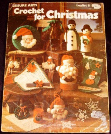 Crochet For Christmas - Leisure Arts # 81 (1976)