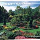 Victoria British Columbia Postcard Butchart Gardens
