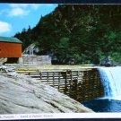 Covered Bridge Falls Fundy National Park New Brunswick