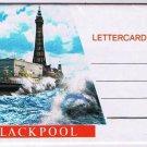 Blackpool England Postcard Lettercard Photos