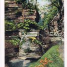 Watkins Glen New York Postcard Pillar of Beauty Curteich A-52138 1913