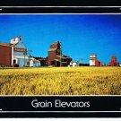 Saskatchewan Postcard Grain Elevators Prairie