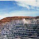 Kennecott Utah Postcard Bingham Copper Mine Blasting