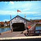 Covered Bridge Hartland New Brunswick Postcard Used