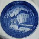ROYAL COPENHAGEN Christmas Plate 1975 Queen's Residence