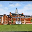 VINTAGE Veterans Hospital Wichita Kansas Postcard