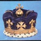 Prince of Wales Crown Postcard