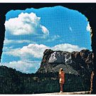South Dakota Postcard Mount Rushmore Tunnel Shrine of Democracy