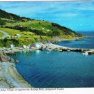 Nova Scotia Laminated Postcard RPPC Antigonish Fishing Village