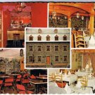 Quebec City Canada Postcard Restaurant Le Bonaparte Multi View