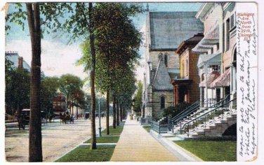 Chicago Illinois Postcard Michigan Avenue Alfred Holzmann