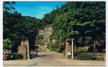New York Postcard Watkins Glen State Park Main Entrance