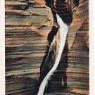 Watkins Glen New York Postcard Pluto Falls Curteich A-52137 1913