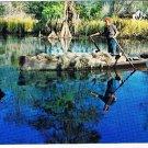 Louisiana Postcard Moss Picker Cajun Spanish Moss