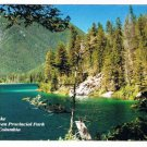 Whiteswan Provincial Park British Columbia Postcard Alces Lake