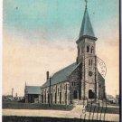 VINTAGE North Bay Ontario Postcard Roman Catholic Church 1909 Phillips Wrinch