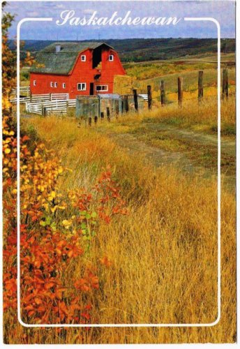 Saskatchewan Postcard Tranquility Southern Saskatchewan Autumn