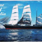 California Postcard Star of India San Diego Bay