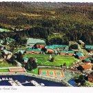 Sitka Alaska Sheldon Jackson College Aerial Postcard