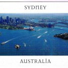 Sydney Australia Postcard Aerial View Sydney Harbour Bridge Opera House