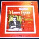 "Mario Lanza Sings Christmas Songs 10"" LP RCA Victor"
