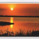 Nature Landscape Postcard Sunset On A Beautiful Day