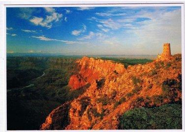 Arizona Postcard Grand Canyon Watch Tower Lookout