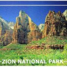 Utah Postcard Zion National Park Court of the Patriarchs