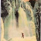 Niagara Falls Ontario Postcard Cave of the Winds in Winter